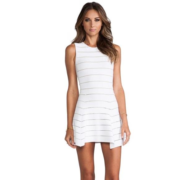 a1910fd6a2 TORN By Ronny Kobo Audrey Dress White bandage. M 5a70cec8739d487463344895